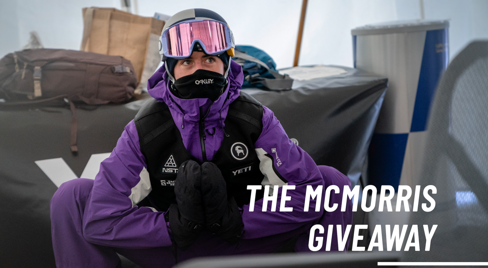 McMorris Giveaway ENTER HERE